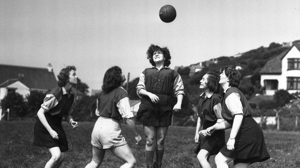 Englad women's football Team History