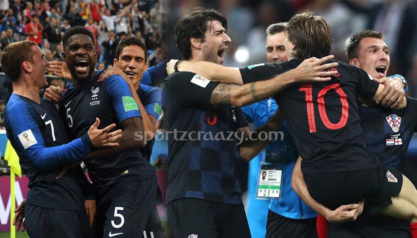 Croatia vs France