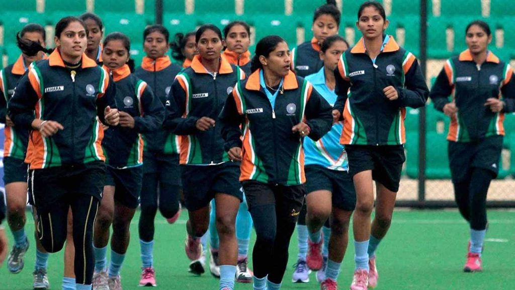 Indian Women Hockey Team Rankings