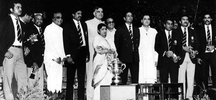1983 world cup Celebrations