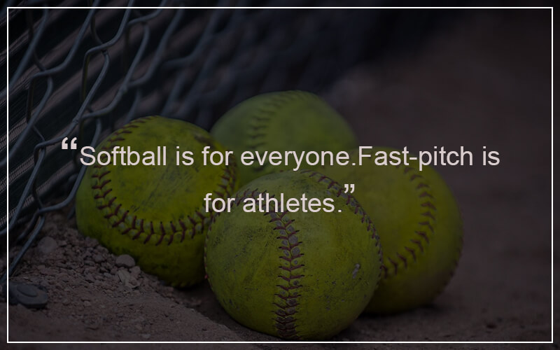 Softball Inspirational Quotes