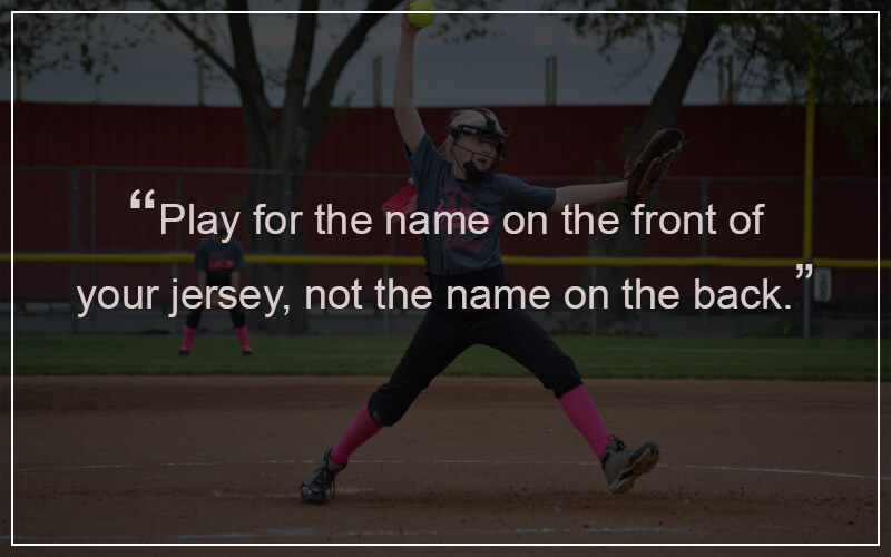Softball Quotations