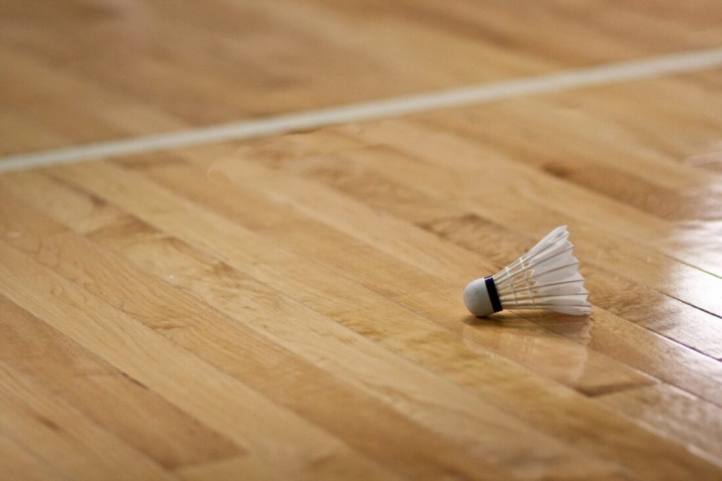 Badminton Court Wooden Floors
