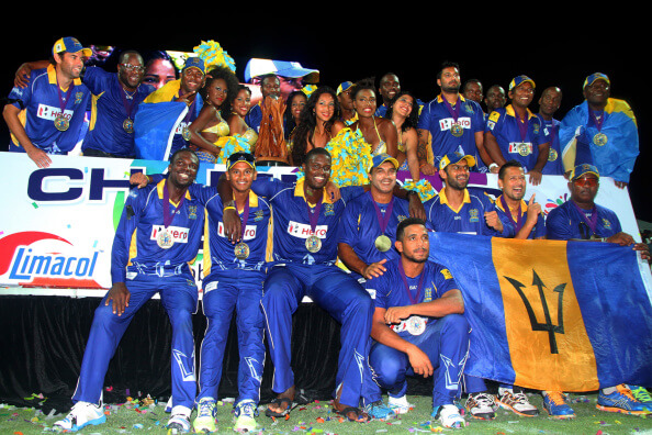 Barbados Tridents team images