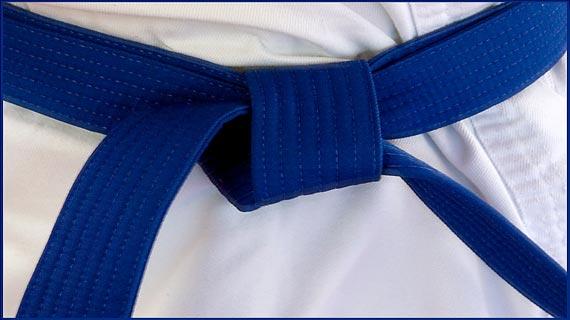 Blue Belt karate