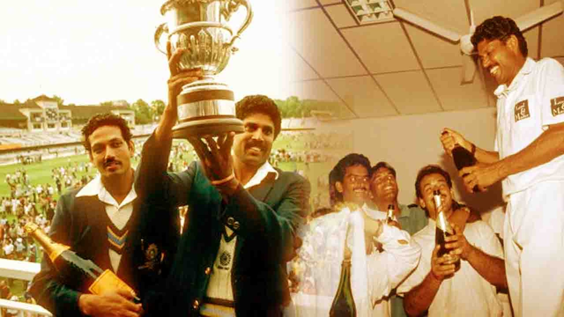Indian team ran out of Champagne