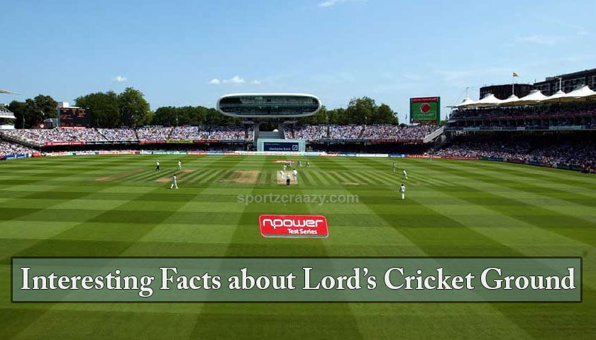 Lords Cricket Ground Facts