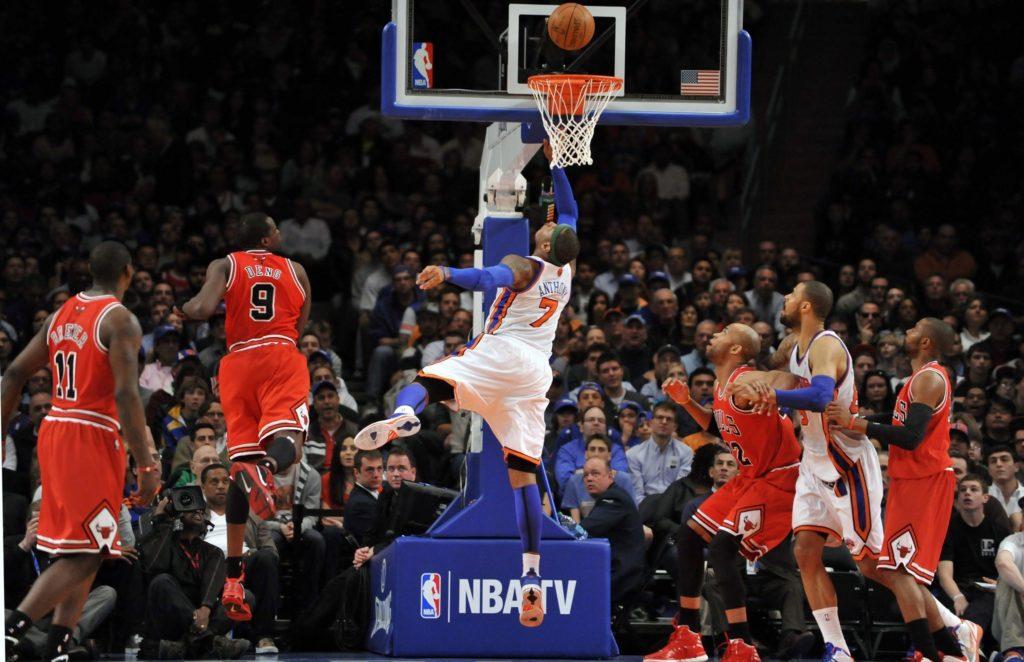 Power Forward in basketball