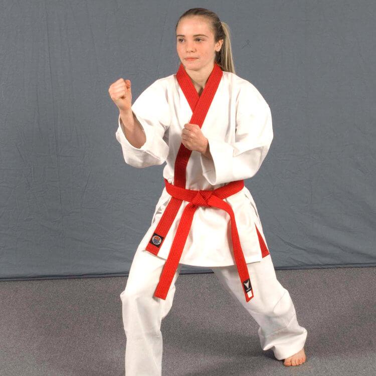 Red Belt position in Karate Belts Order