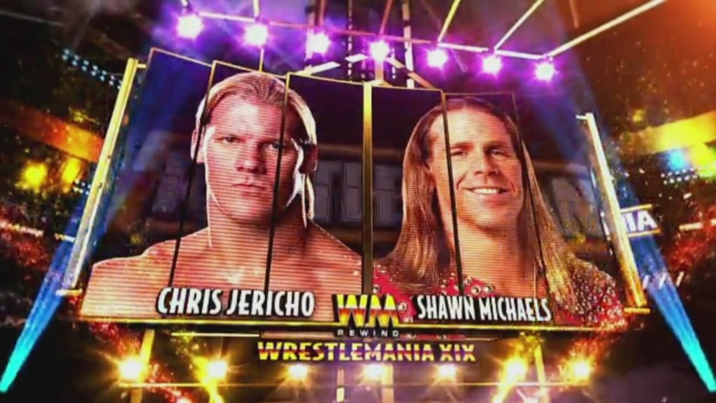 Shawn Michaels vs Chris Jericho