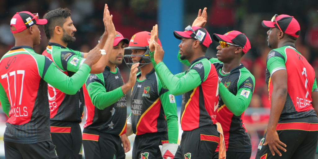 St Kitts and Nevis Patriots team Images