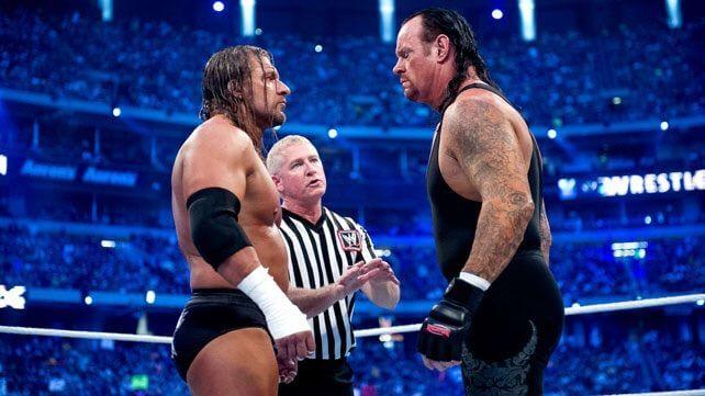 Triple H vs The Undertaker