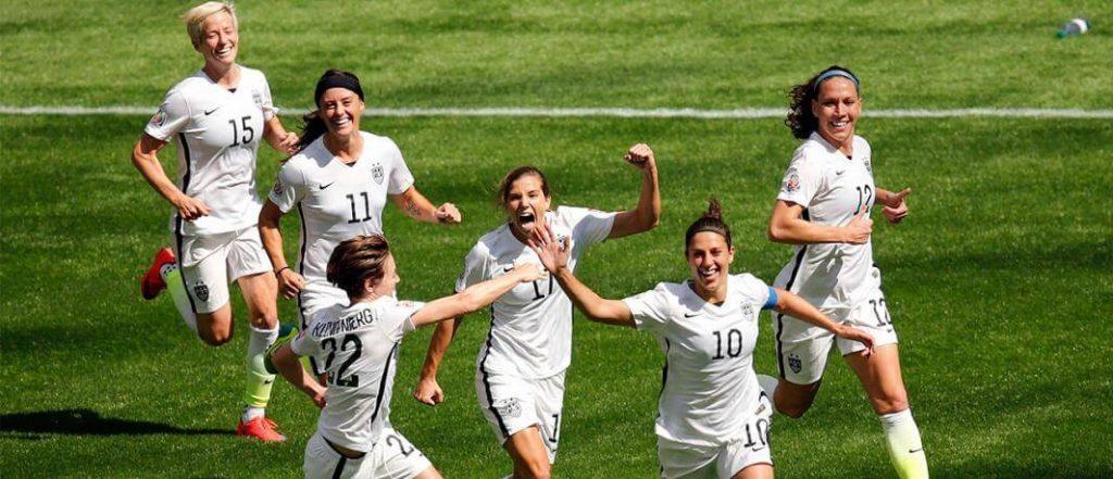 US Women's Soccer History