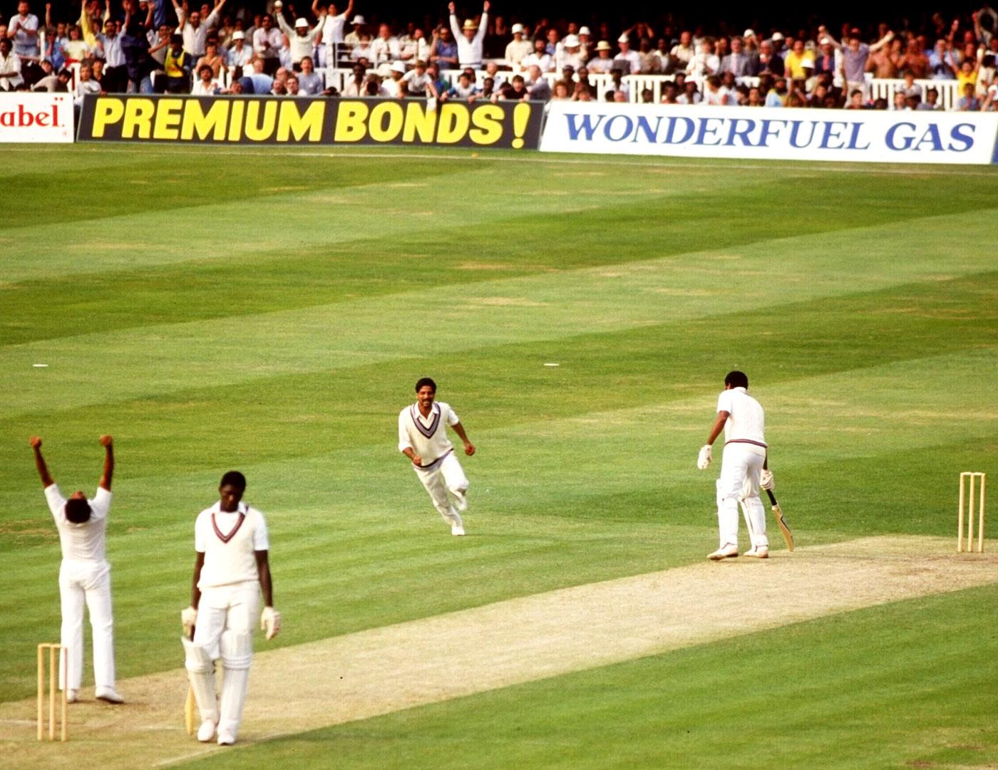 West Indies wicket 1983