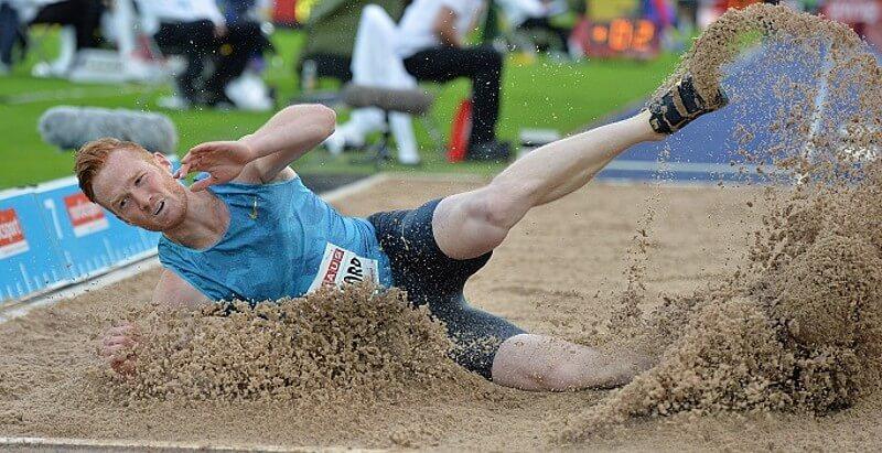 long jump records