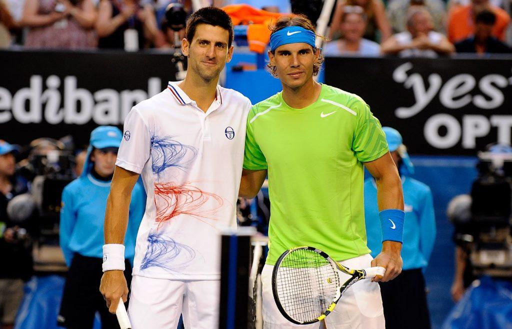 Djokovic vs Nadal 2012 final
