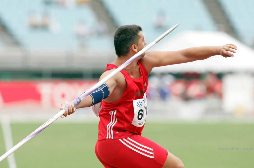 Equipment Used for Javelin Throw
