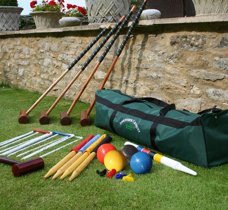 Equipment Used in Croquet Game