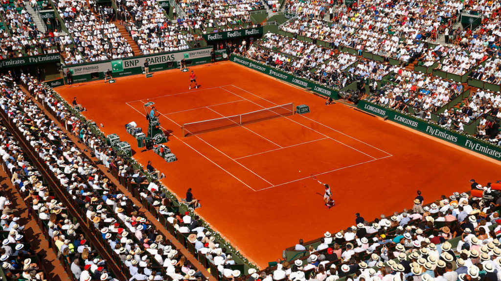 Global players in french open