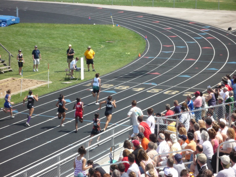 High School Track Events
