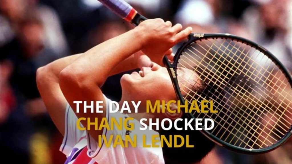Micheal chang vs Ivan Lendl, 1989 Fourth Round Match