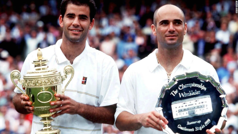 Pete Sampras vs Andre Agassi, 1999 Finals