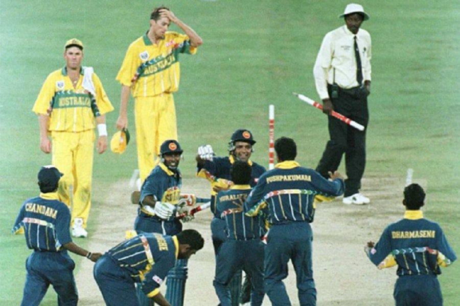 Sri Lanka National Cricket Team 1996