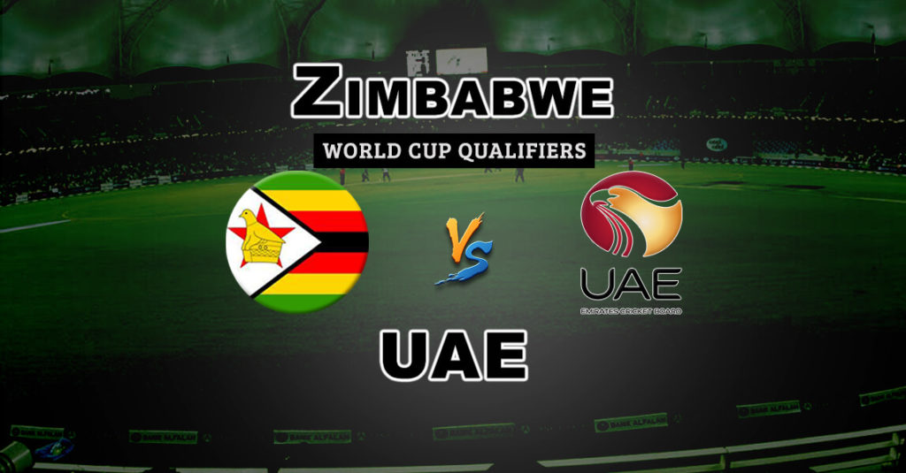 Zimbabwe vs UAE