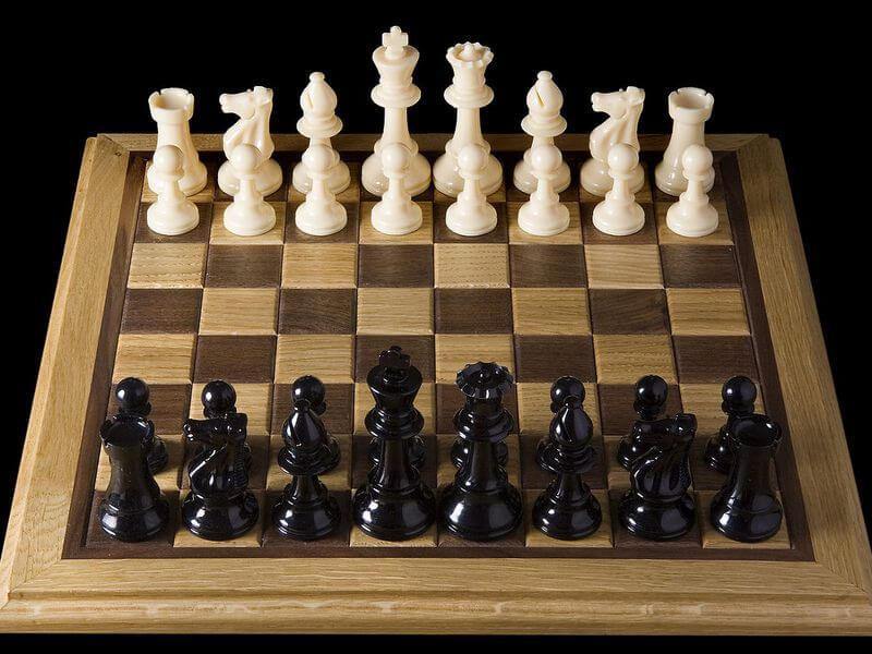 arrangements of chess