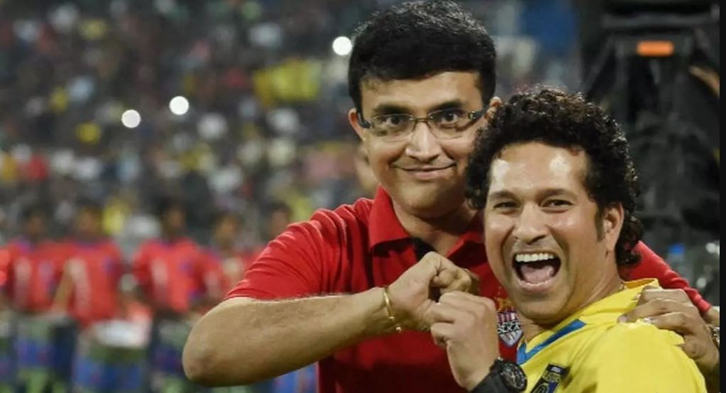 Ganguly and Sachin
