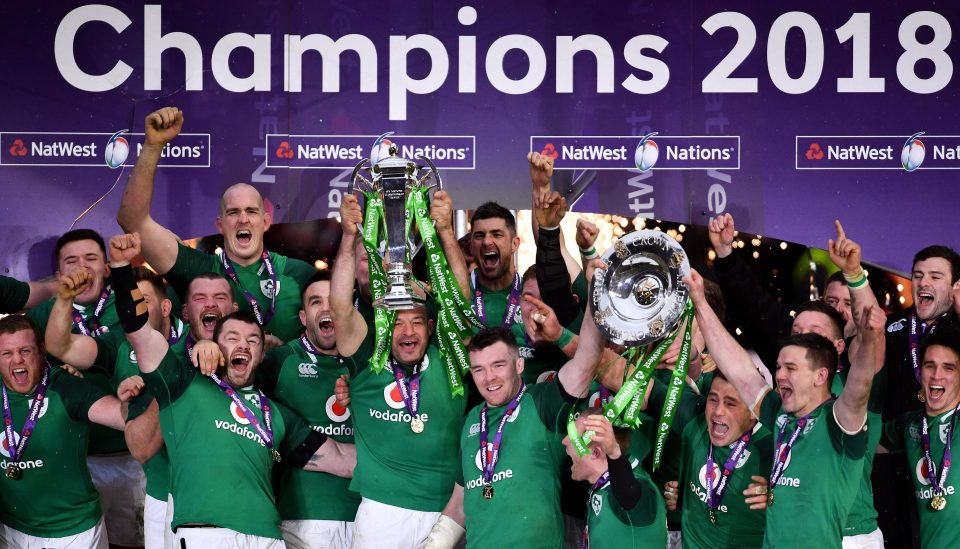 Ireland rugby team