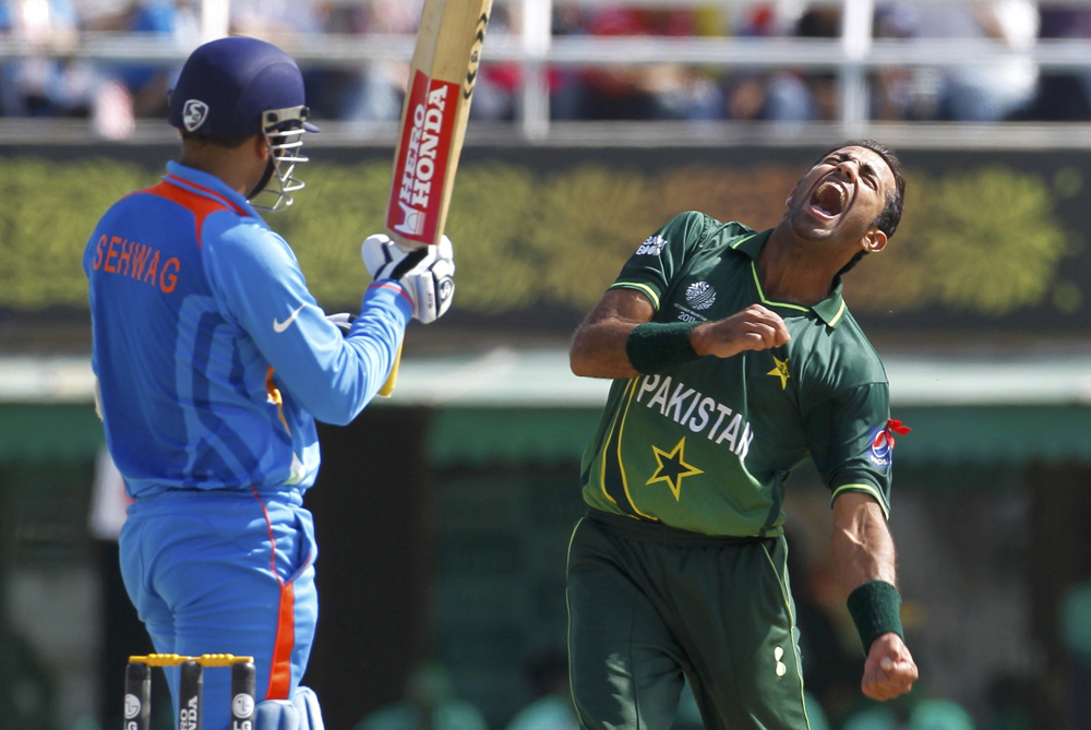 Sehwag and Umar Gul
