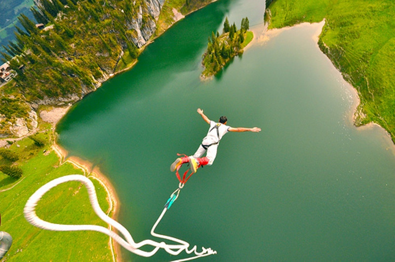 bungee jumping types