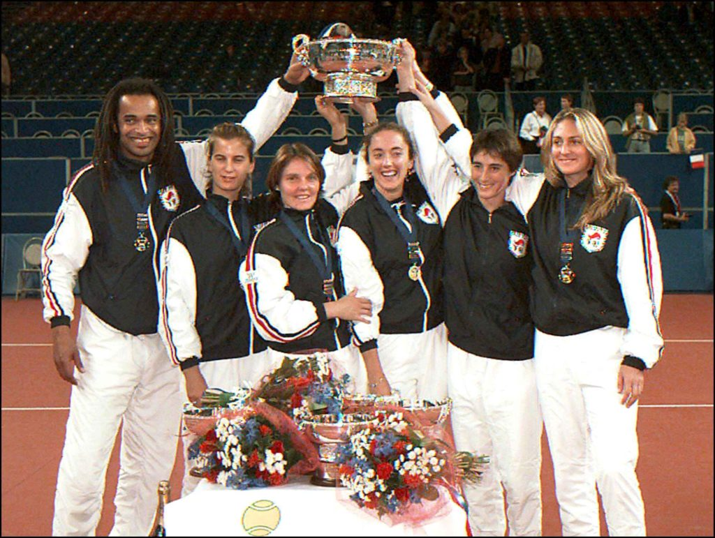 fed cup France and Japan 1997