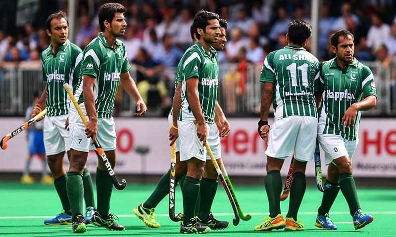 field hockey team Pakistan