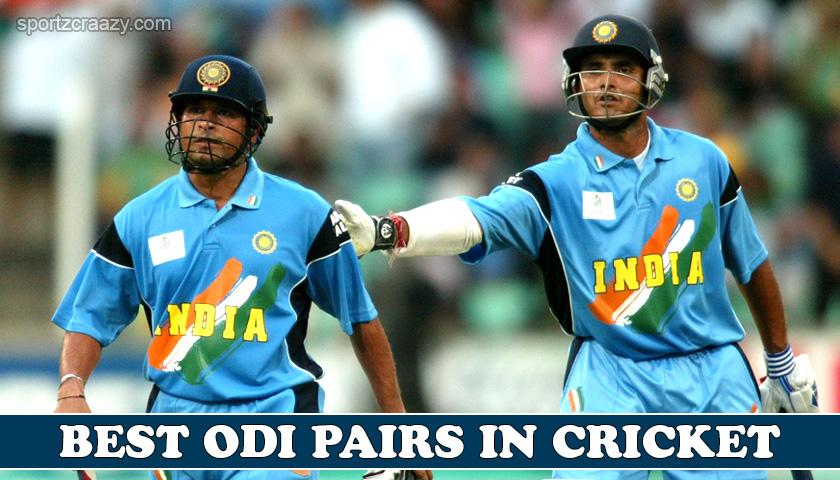 Best ODI pairs in Cricket