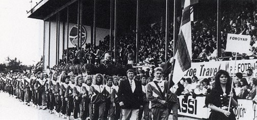 History of Island Games