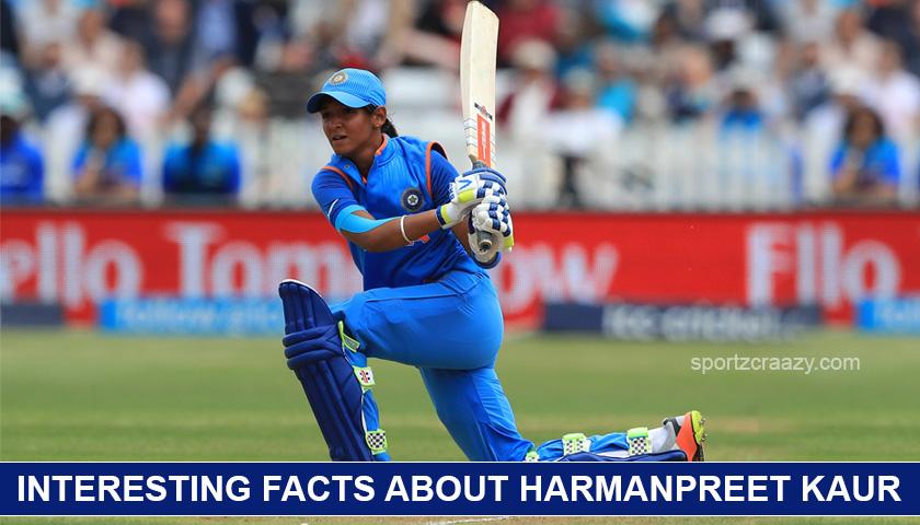 Interesting facts about Harmanpreet Kaur