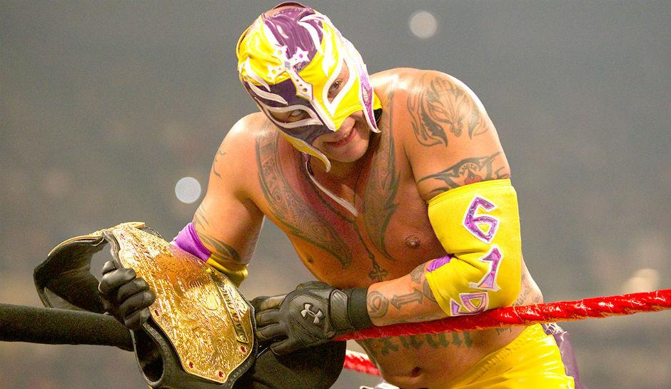 Rey Mysterio champion