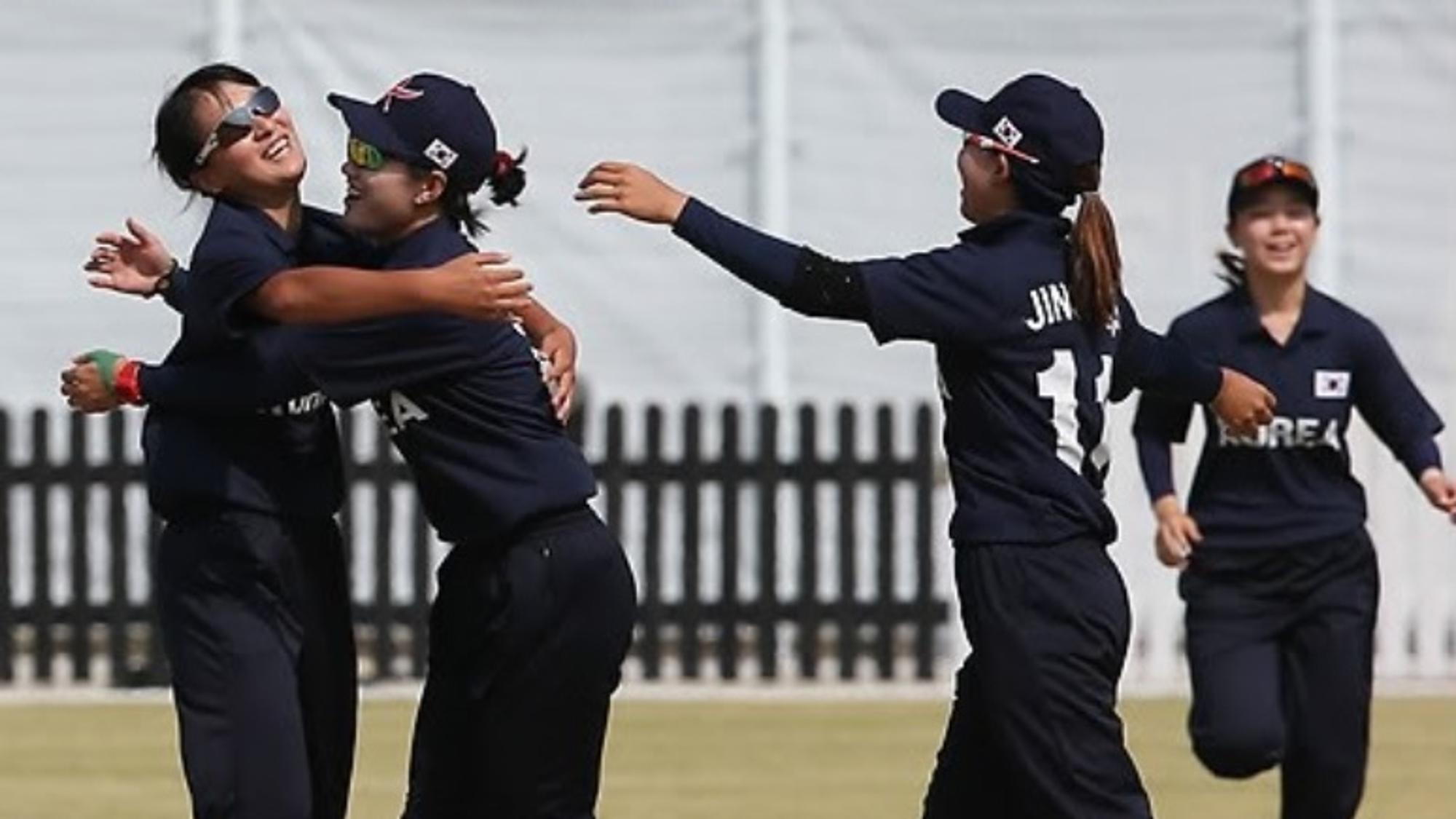 South Korea Women's Cricket Team