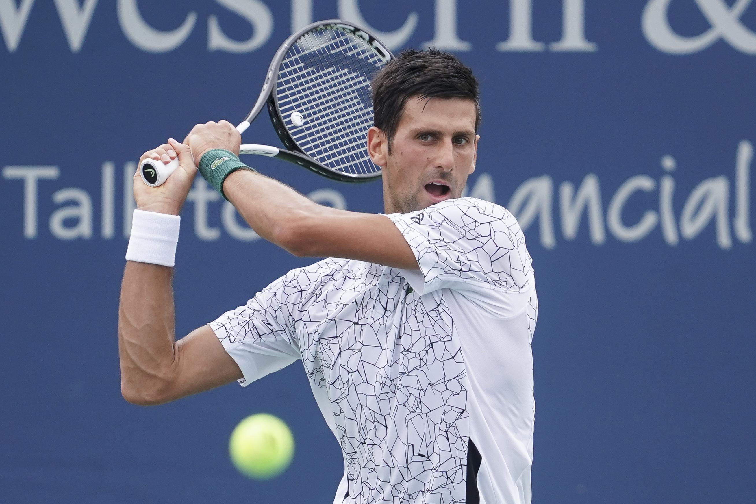 Djokovic has Never Won the Cincinnati Open