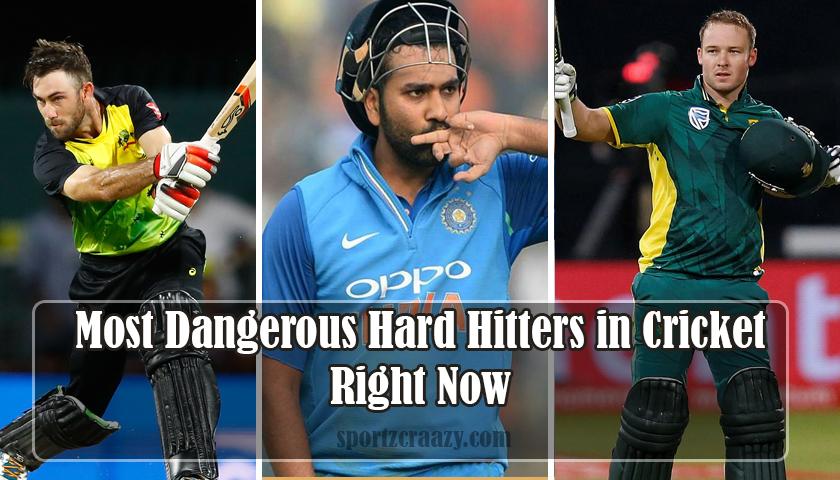 Hard Hitters in Cricket