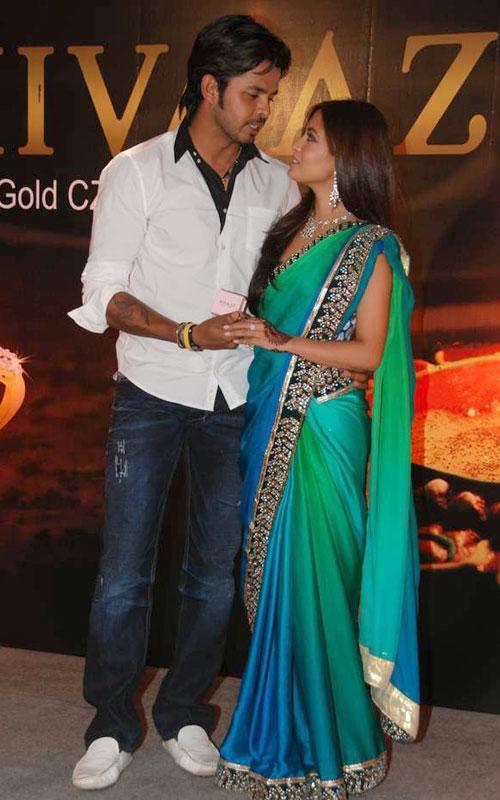 Riya Sen with sreesanth