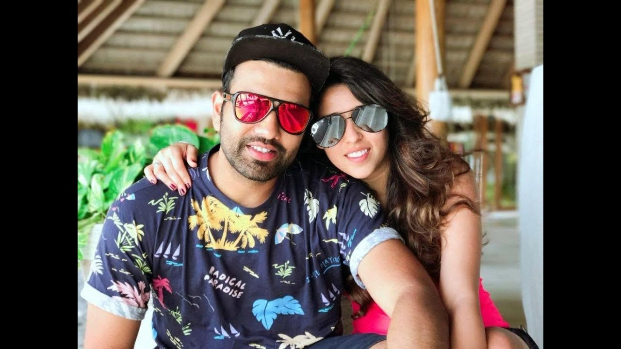 Rohit Sharma and Ritika Sajdeh , Indian Cricketers & their Life Partners