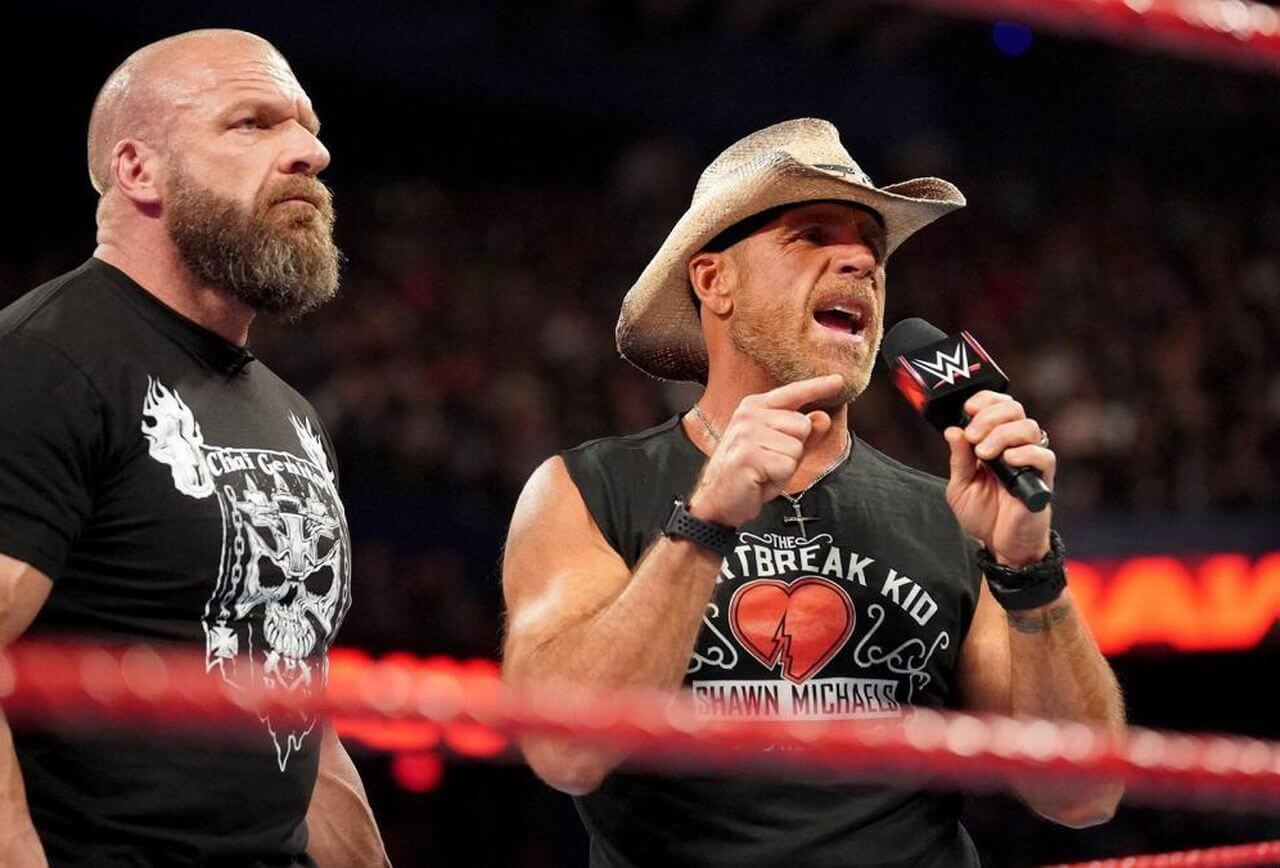 Shawn-Michaels , WWE superstars as RAW manager
