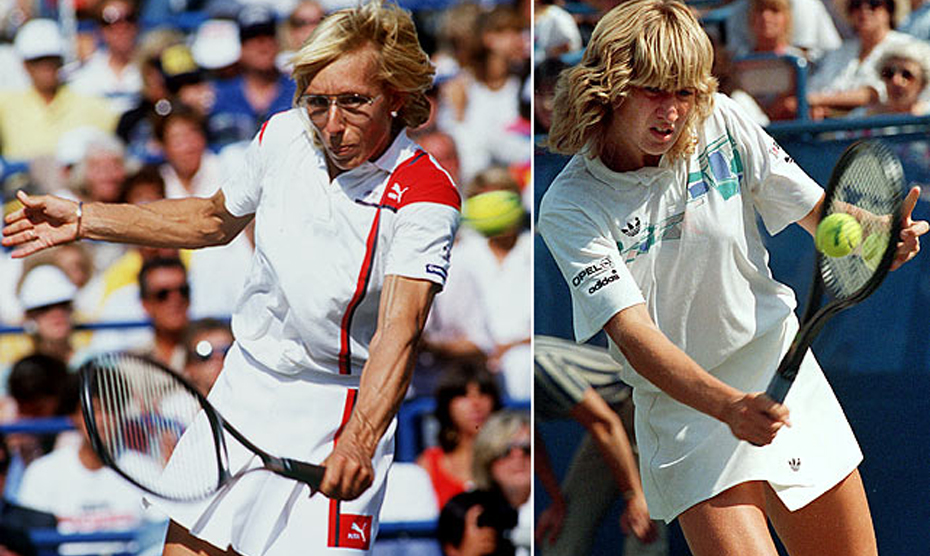 Steffi Graf vs Martina Navratilova Wimbledon Classic Matches