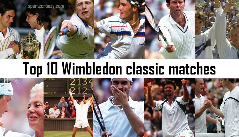Wimbledon Classic Matches
