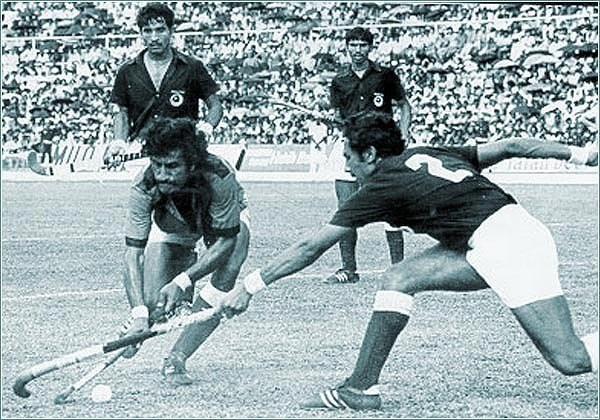 pak vs ind hockey in 1975 World Cup Final
