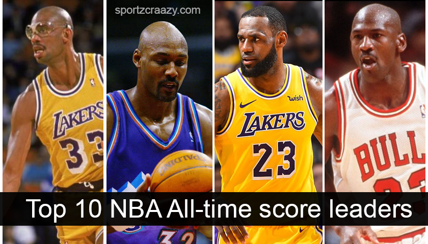 Top 10 NBA All-Time Score Leaders