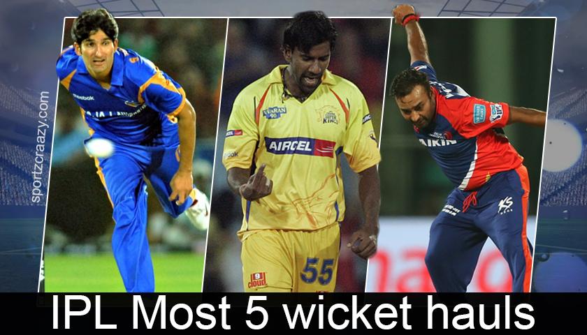 5 Wicket Hauls in Indian Premier League